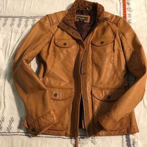 Leather Eddie Bauer jacket